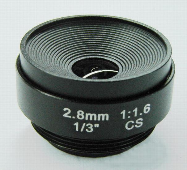 2.8mm CCTV lens