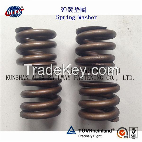 Fe6 Railway Double coil spring Washers