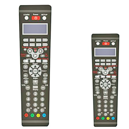 IR Universal remote control with learning function