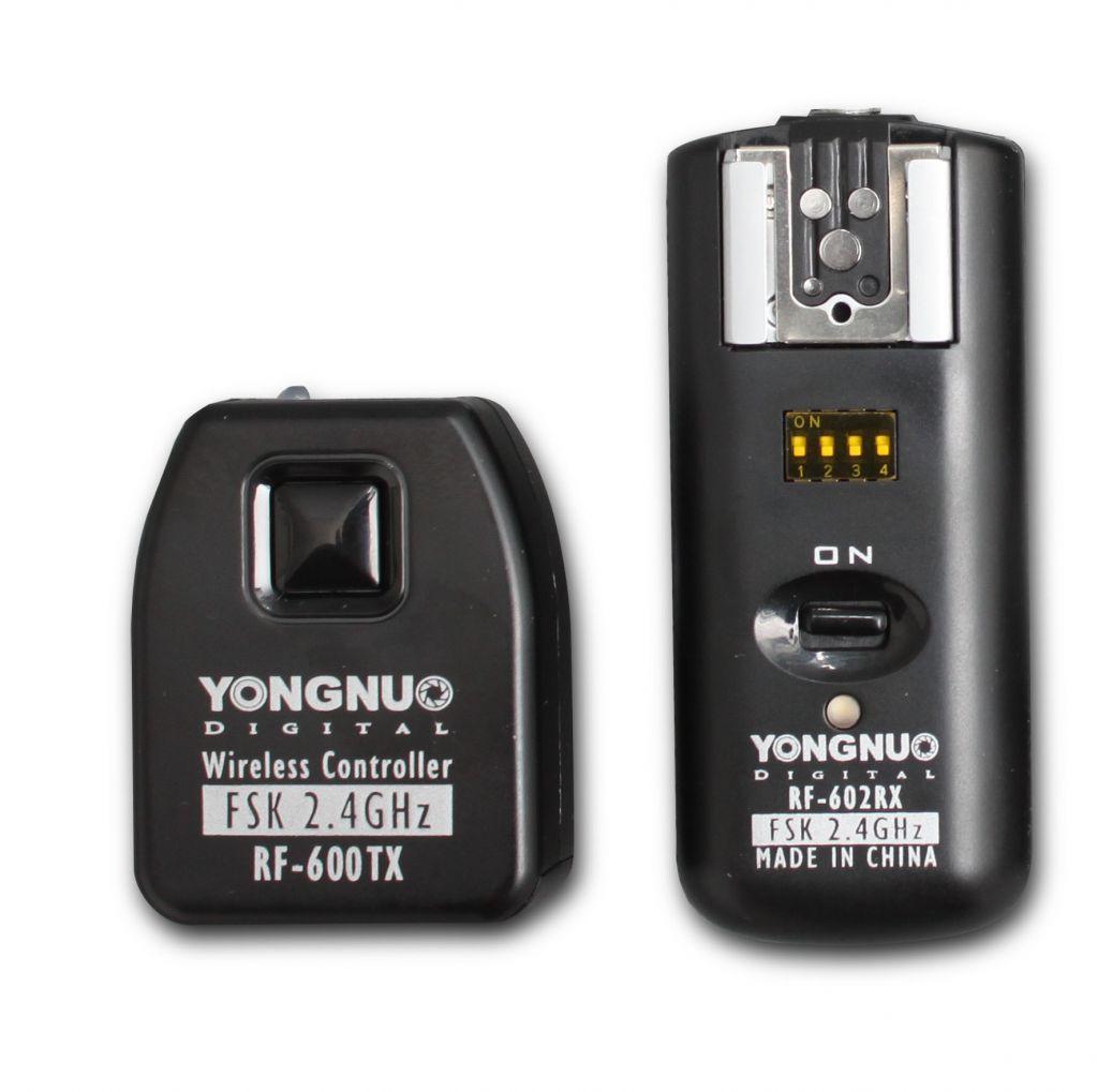 YongNuo Wireless Synchronized Flash Trigger RF-602 N1