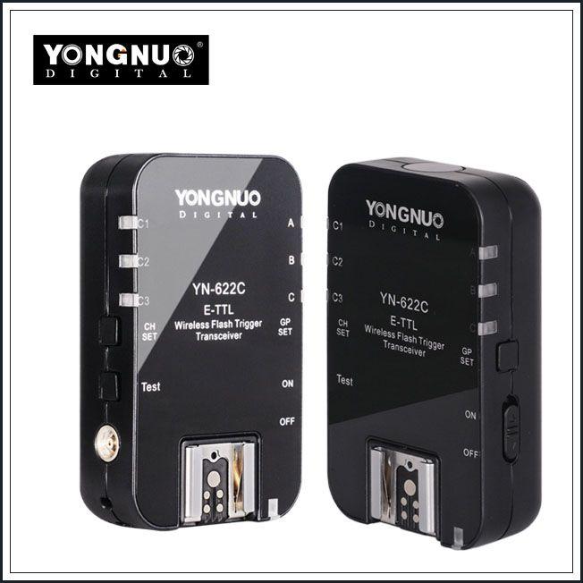 YN-622C Wireless TTL Flash Trigger For Canon