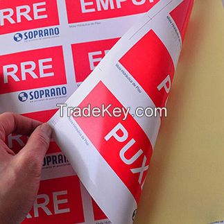 cheap printing Vinyl sticker label printing with vinyl labels material:, PVC, PE, PC(Polycarbonate sheet), also for custom vinyl stickers printing | large prints die cut stickers | custom decals for cars | toxic symbols, vinyl signage, vinyl dec