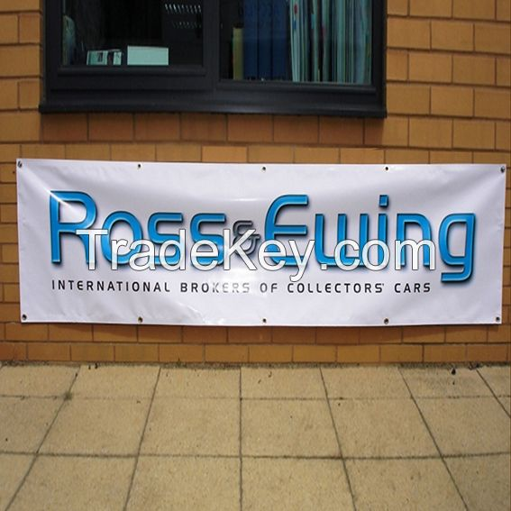 Large format digital printing on heavy duty printed Vinyl Banners  Advertising PVC vinyl banners also with screen print transfers
