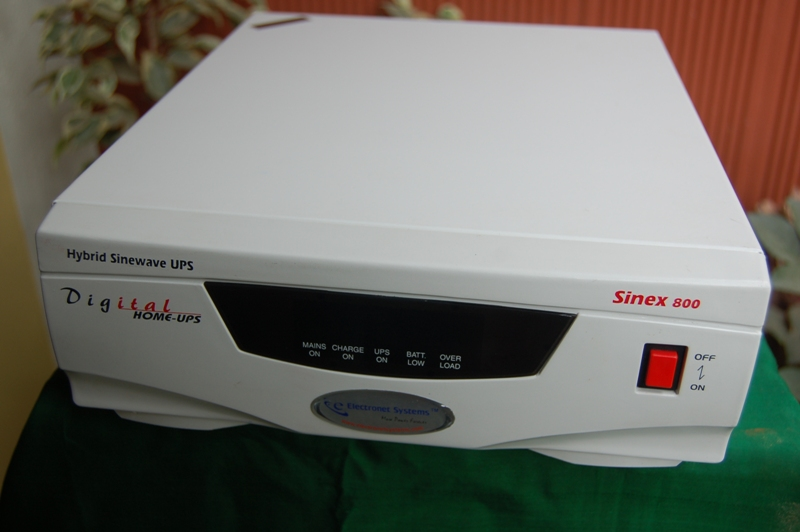 SOLAR POWERED UPS/INVERTERS, DUAL POWERED