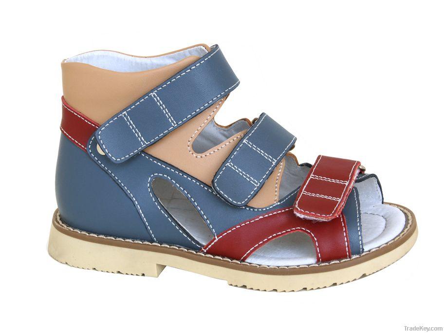 GraceOrtho kids health shoes 4811204 orthopedic sandal for correcting flat foot