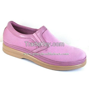 spandex vamp women comfort shoe benefit for flat foot , wide foot , diabetics  (9611087)