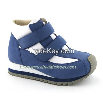 Children stability sport shoe kids athletic orthopedic shoe for corrective flat foot (4612173-1)