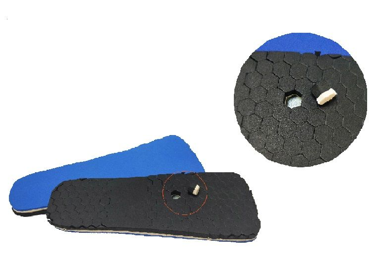 Peg insole Diabetic Insole with Removable Hexagonal to Point out Injur