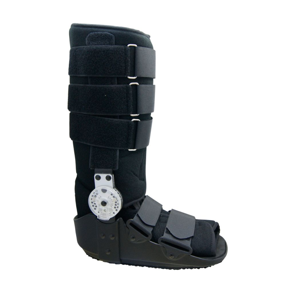 Orthopedic Adjustable ROM Hinge Cam Walker Fracture Boot with Rocking Bottom