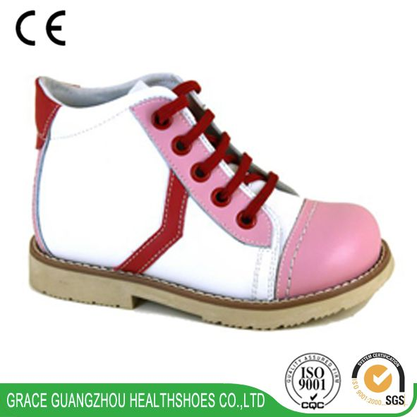 4712726 Kids orthopedic leather shoes children corrective shoes solid footwear