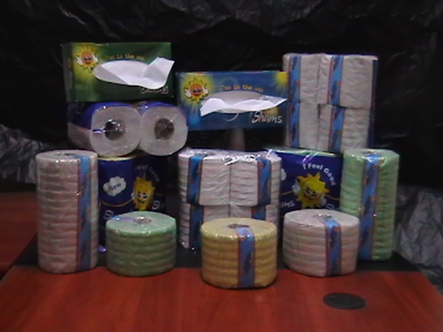 Box facial tissue, Toilet Papers, Kitchen towels BULGARIA VARNA