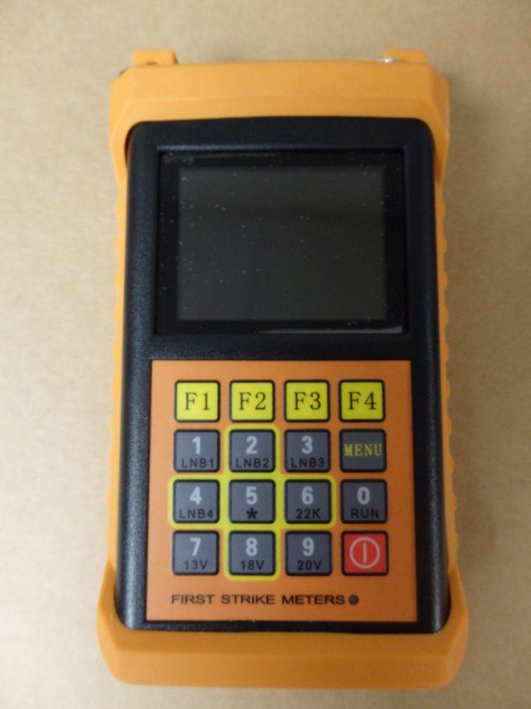 First Strike Meters FS1-ProHD Satellite Finder Meter