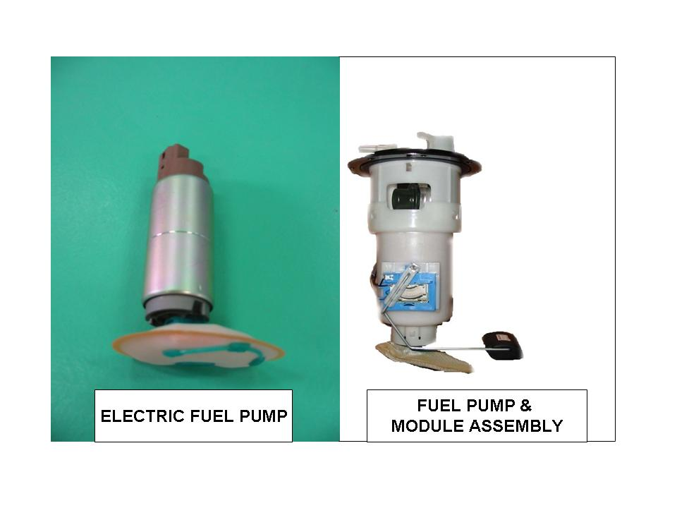 ELECTRIC FUEL PUMPS AND MODULE ASSEMBLY