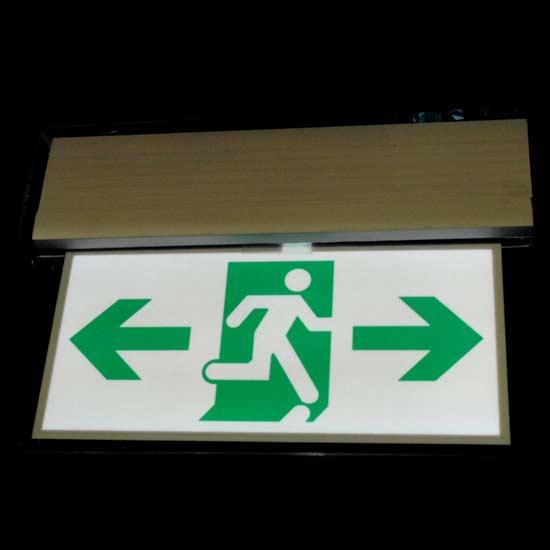 EL Exit Sign