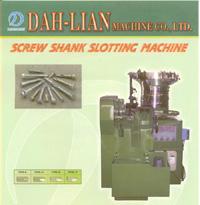 SCREW SHANK SLOTTING MACHINE