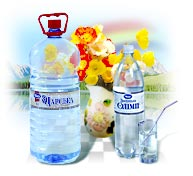 sun flower oil,carbonated juice drink,juices,mineral water, carbonated