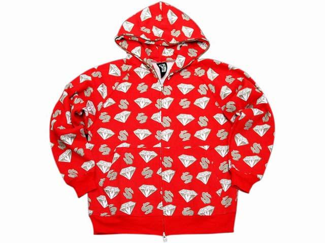 branded hoody