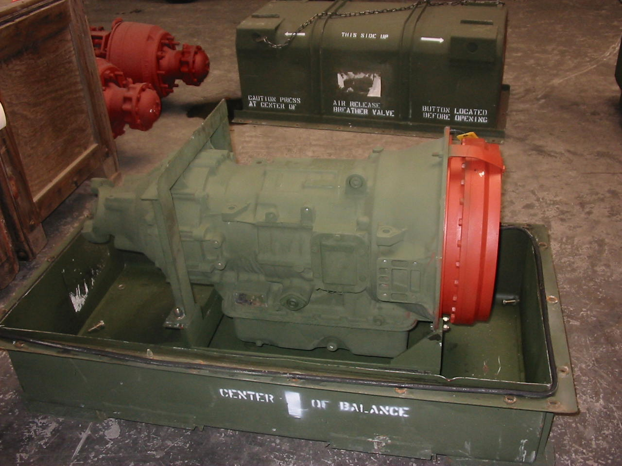 MilitaryTransmission Parts