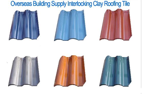 Premum Quality Clay Roof Tile