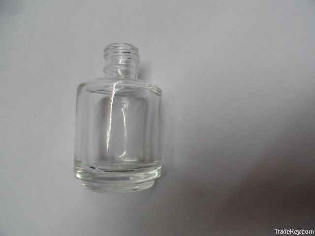 Nail Polish Glass Bottle , Cap , brush