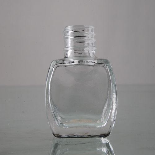 8ml Square Shape  Nail Polish Glass Bottle