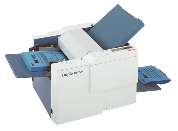Duplo DF-920 Fully Automatic Tabletop Folder