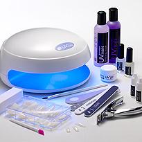 UV nails manicure pedicure