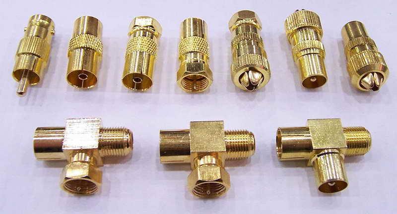 Bnc Connectors, Adaptors, Banana Plugs