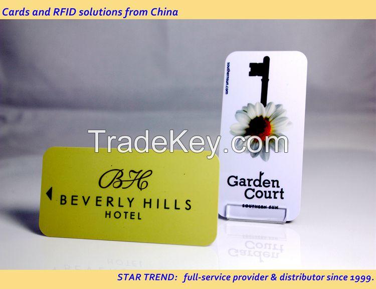 ST-16002 | Magnetic Stripped Hotel Key Card | Plastic Key Card