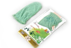 Green Tea Shower Glove