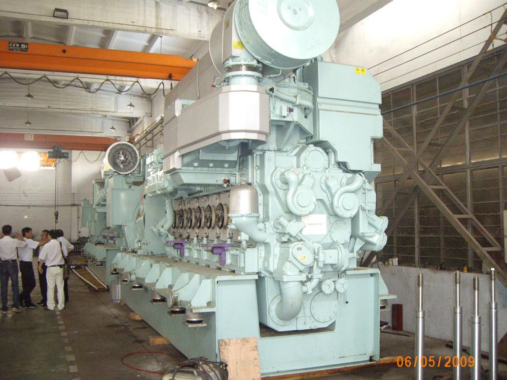Second hand Wartsila 6L32 HFO power plant