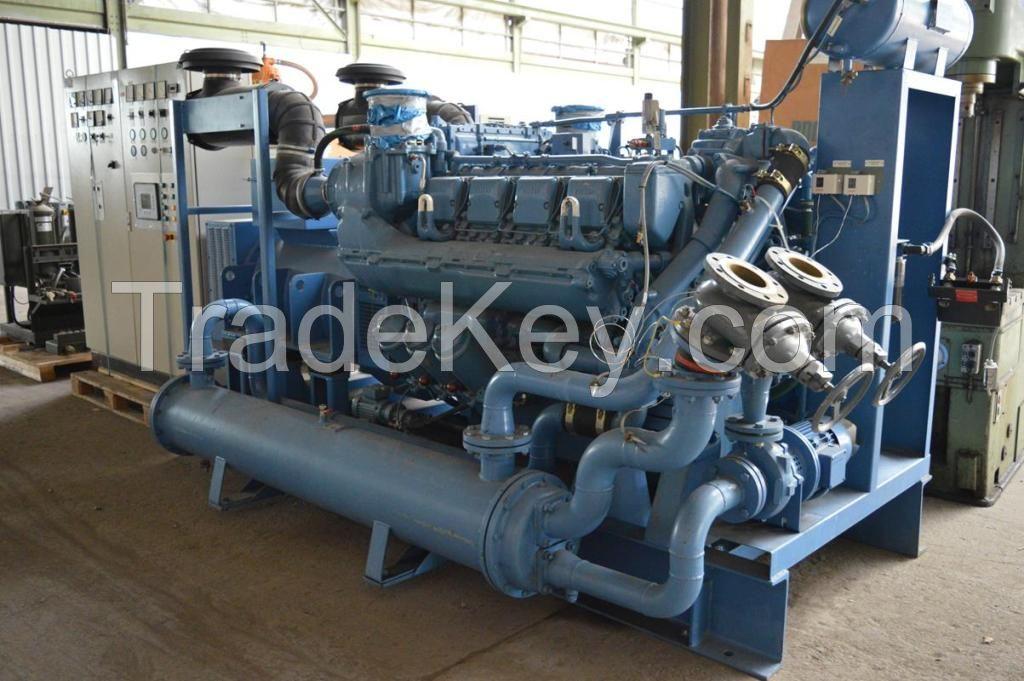 Generator used MTU 700 KVA