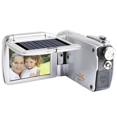 Solar Powered Camcorders