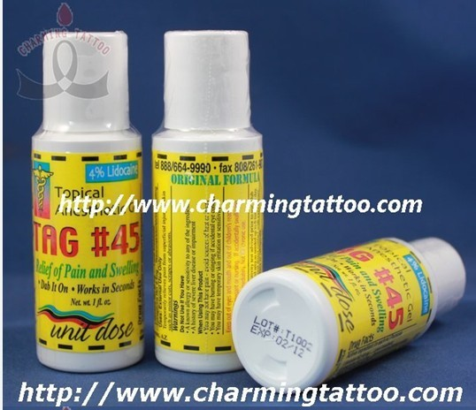 Topical Anesthetic Gel TAG#45 tattoo anesthetic By Charmingtattoo ...