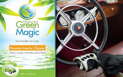 Nature's Green Magic Premium Interior Cleaner