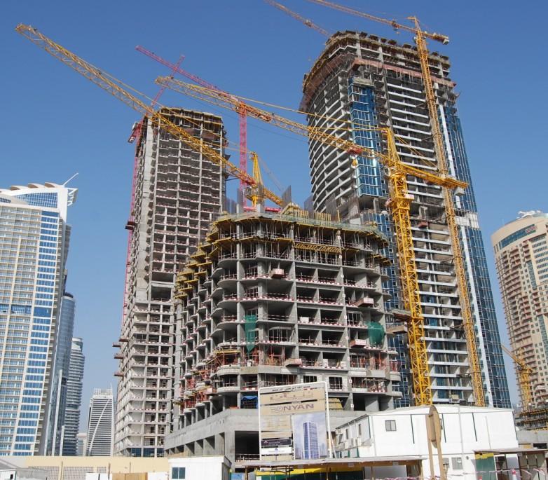 tower crane and hoist