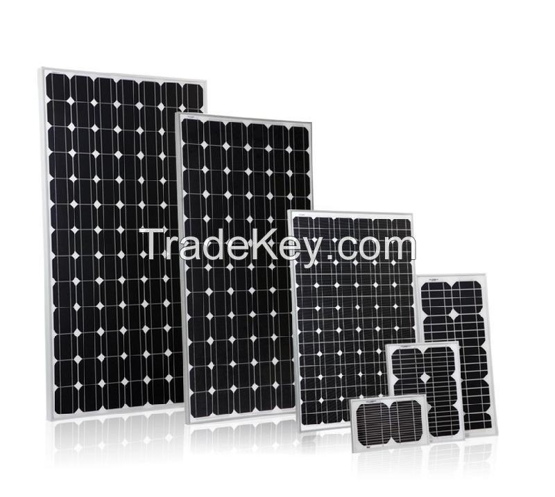 $0.42-0.58 Price Per Watt Solar Panels Mono Crystalline Silicon PV Module