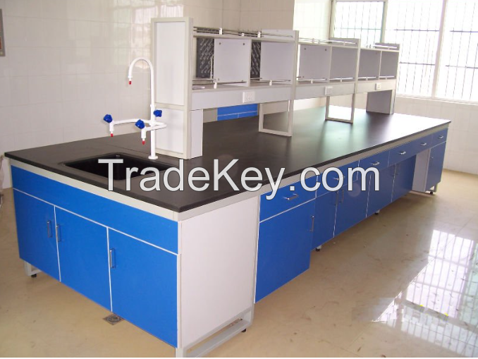 Seel Laboratory Central Table Island Bench