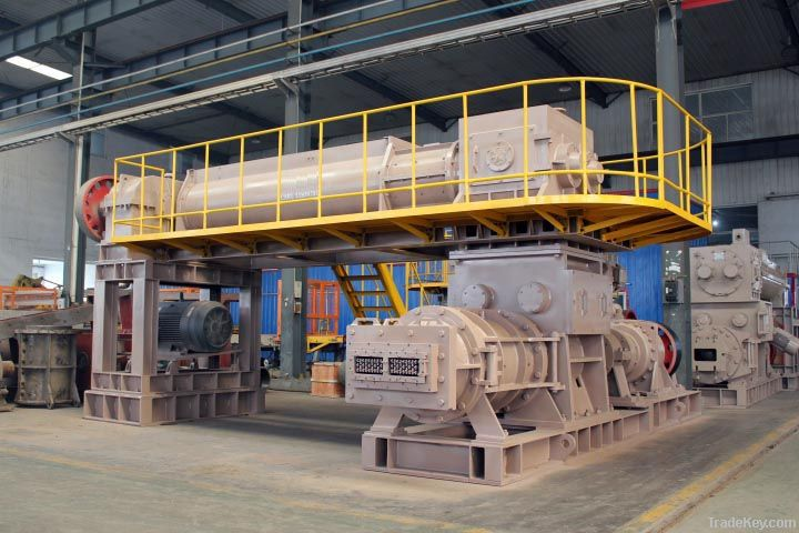 clay brick extruding machine 2
