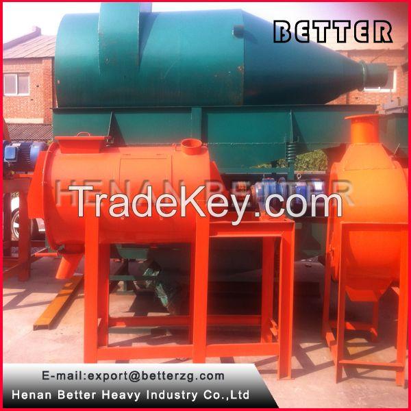 dry mortar mixer-ribbon mixer