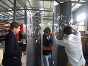 Pre-Shipment Inspection-Steel Wall Panel