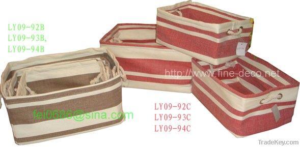 paper fabric folding storage laundry