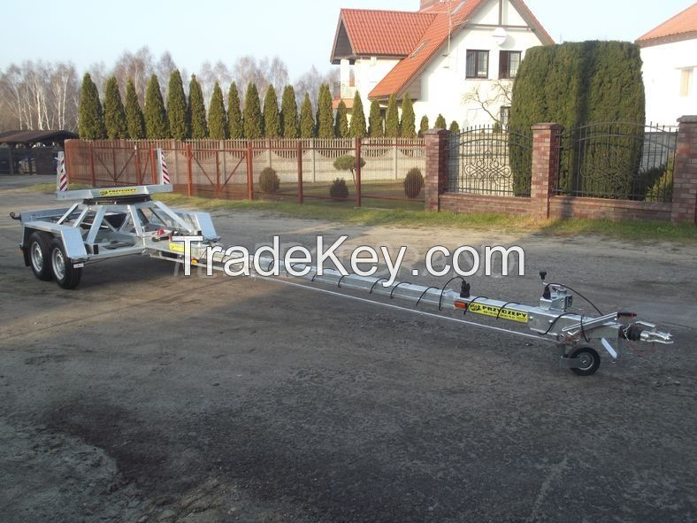 TRAILER to TRANSPORT LONG OBJECTS Indyvidual orders trailers EC APPROVAL