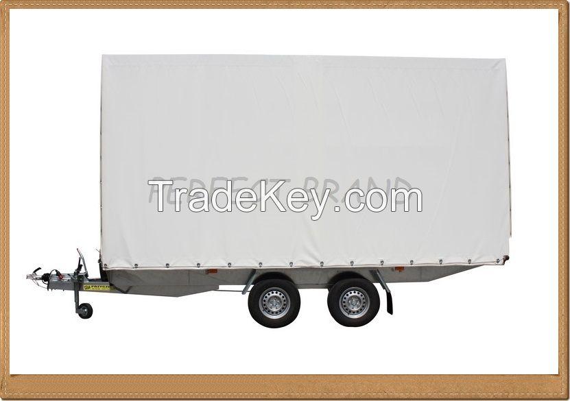 FLATBED Tarpaulin TRAILER Indyvidual orders trailers EC APPROVAL