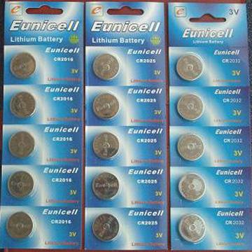 CR2032 CR2016 CR2025 3v Lithium button/coin cell battery