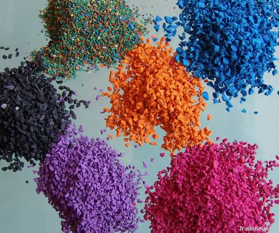 colored EPDM Granules