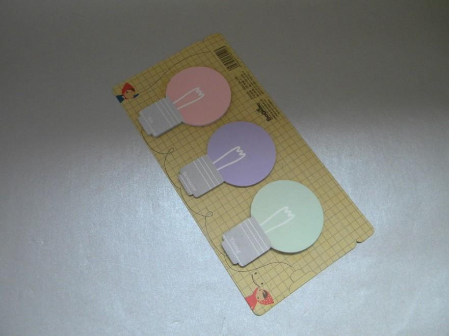 Die-Cut Sticky Notepad