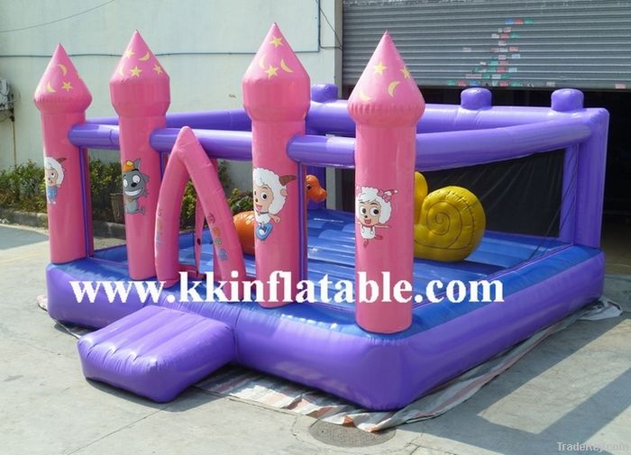 sealed inflatable bouncy castle , sealed inflatables