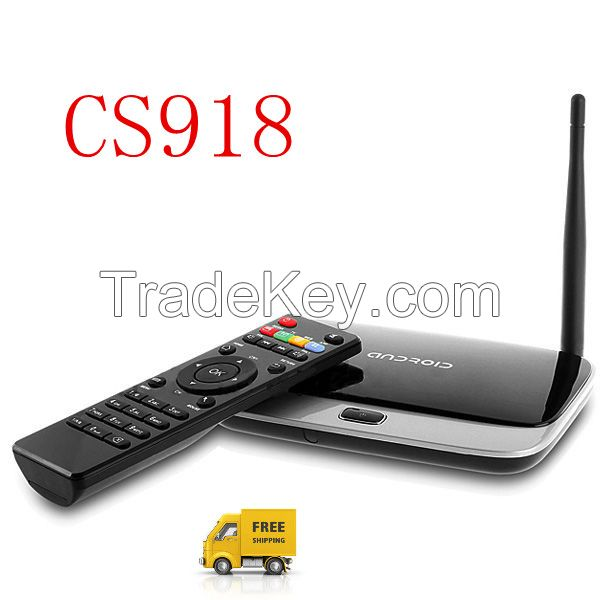 CS918 with Bluetooth WIFI RK3188 Quad Core 1.65Ghz Android