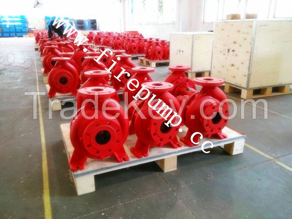 end suction fire pump